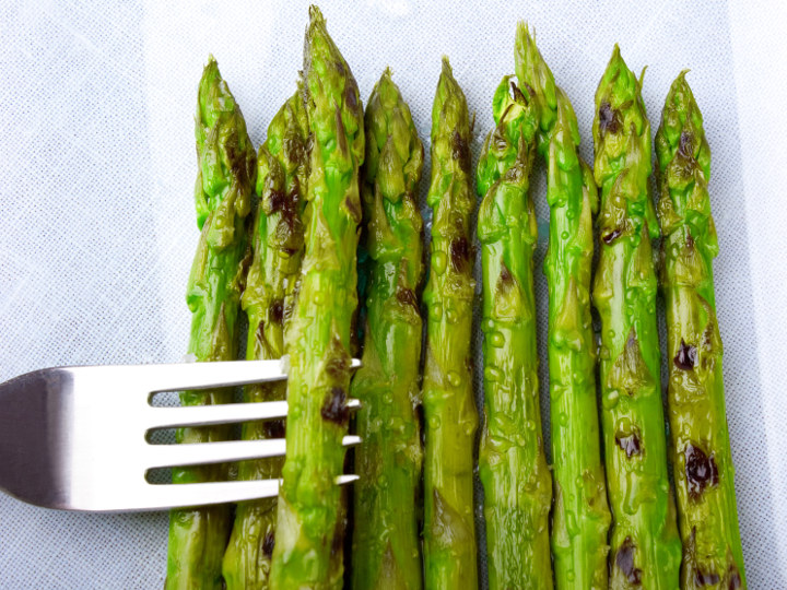 Photo of Asparagus cooked with Pantelligent's smart frying pan