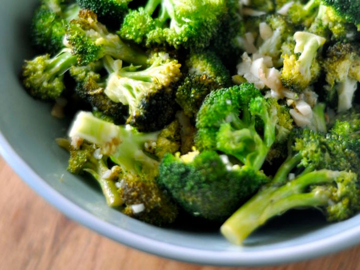 Photo of Broccoli cooked with Pantelligent's smart frying pan