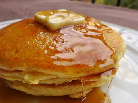 Photo of Pancakes cooked with Pantelligent's smart frying pan