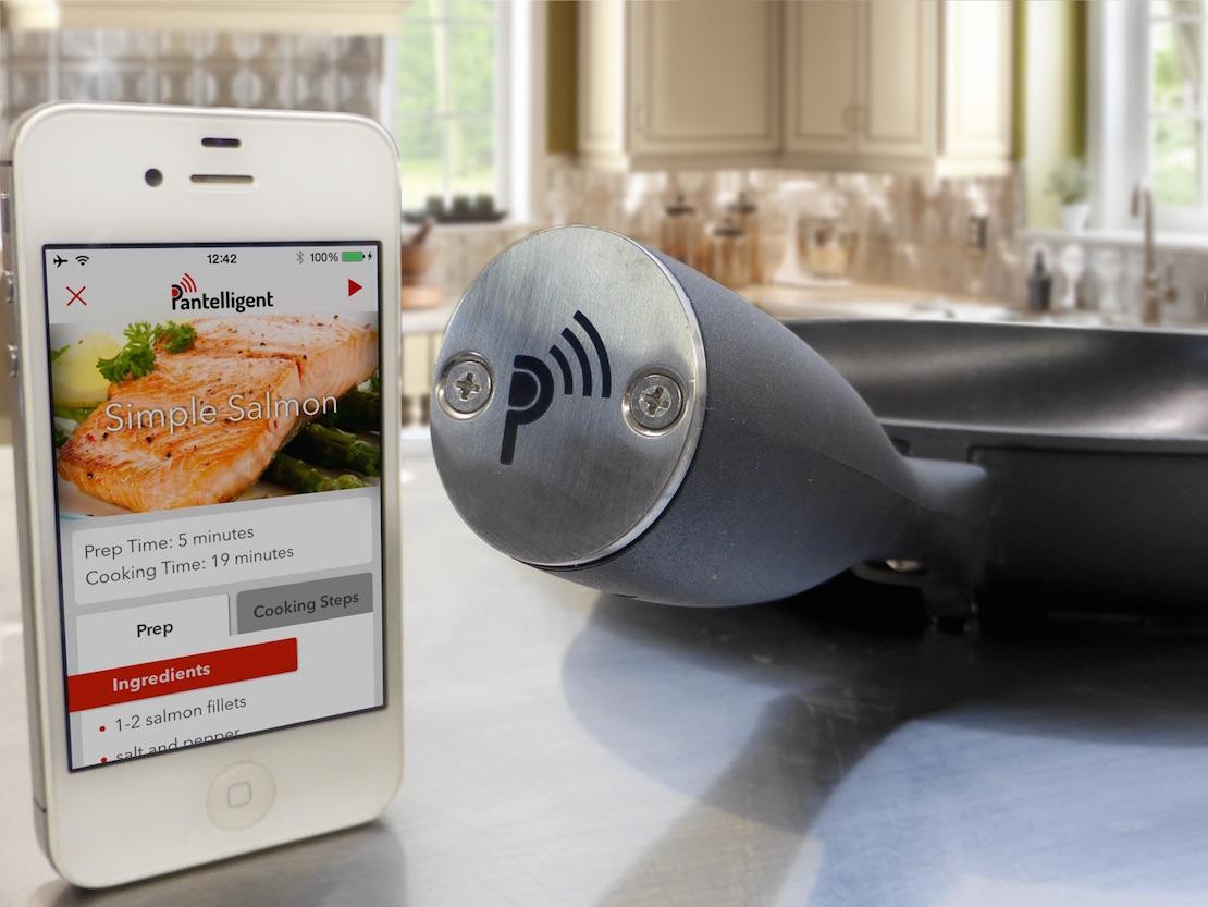 Bluetooth τηγάνι καταλαβαίνει πότε είναι έτοιμο το φαγητό