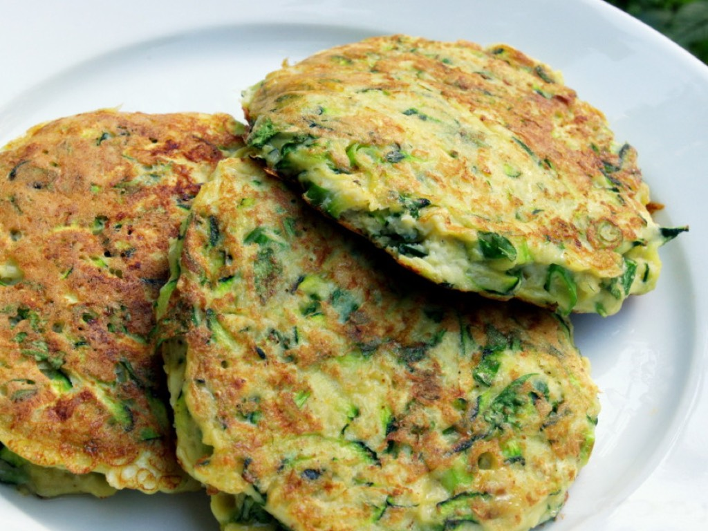 Photo of Zucchini Pancakes cooked with Pantelligent's smart frying pan
